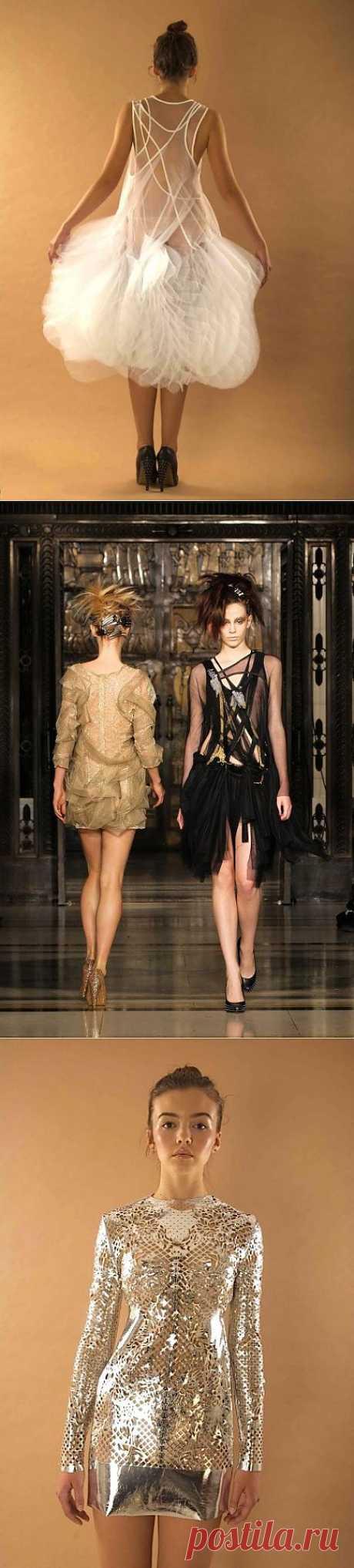 Три платья от Inbar Spector / Вещь / Модный сайт о стильной переделке одежды и интерьера