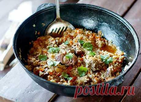Что приготовить в казане на костре - 5 рецептов с пошаговым фото - Домашняя кулинария