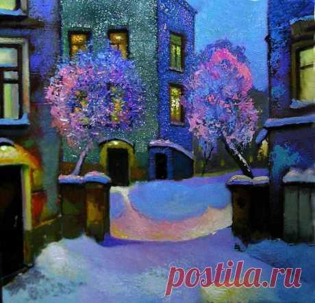 Московский художник Александр Щепалин. Дивная зима