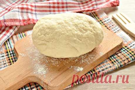 Быстрое тесто для пельменей и вареников на майонезе