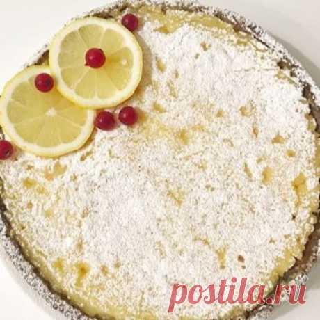 Лимонные пироги, 16 рецептов с фото - ФотоРецепт