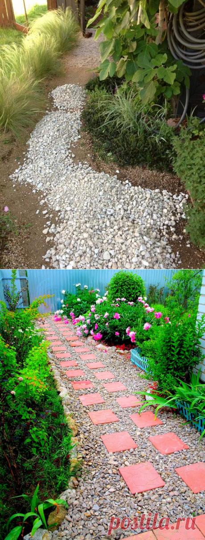Дорожки в саду из тротуарной плитки: фото, разновидности, правила укладки (29 фото) - cozyblog - медиаплатформа МирТесен