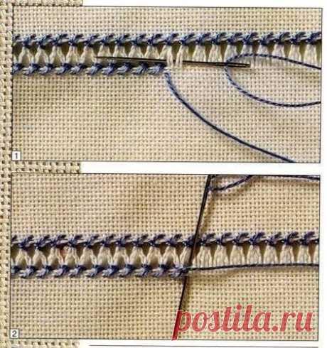 Мережка  #вышивка@dama_vykrojki