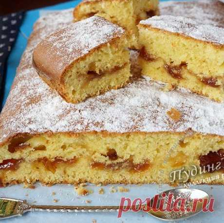 Пирог...два пирога с вареньем на скорую руку
