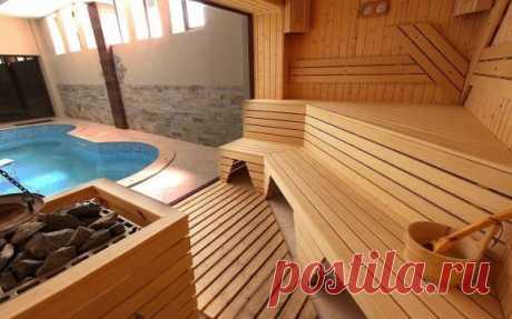 Красивые бани и сауны