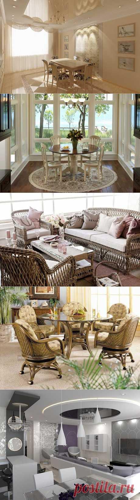 Интерьерные идеи для столовой