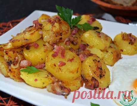 Жареный картофель в немецком стиле – кулинарный рецепт