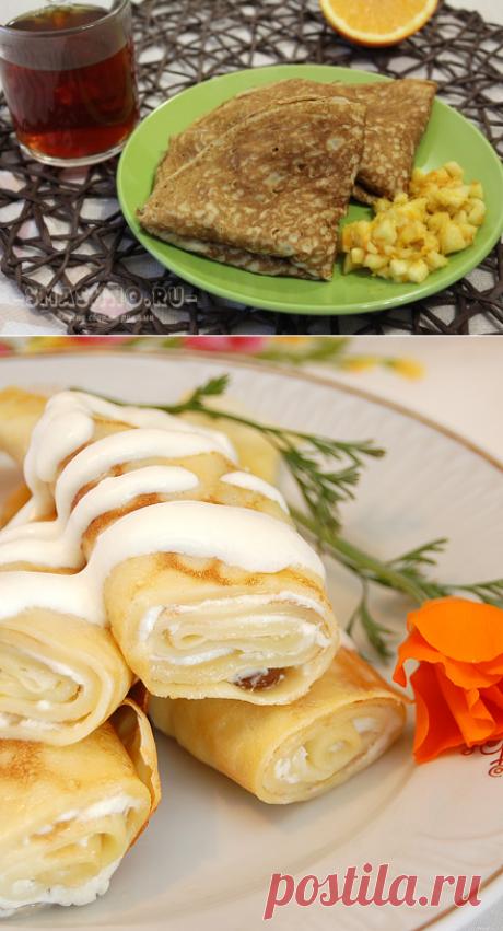 Сладкие начинки для блинов: как приготовить и заворачивать, рецепты с яблоками, маскарпоне, творогом, с фото пошагово