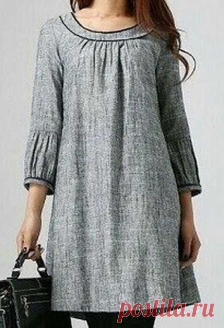 Оригинальное модное платье. Все размеры