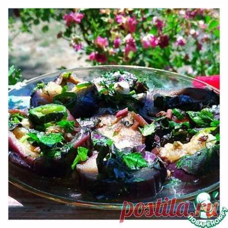 "Marinated eggplants ""Августовские"" - culinary recipe"