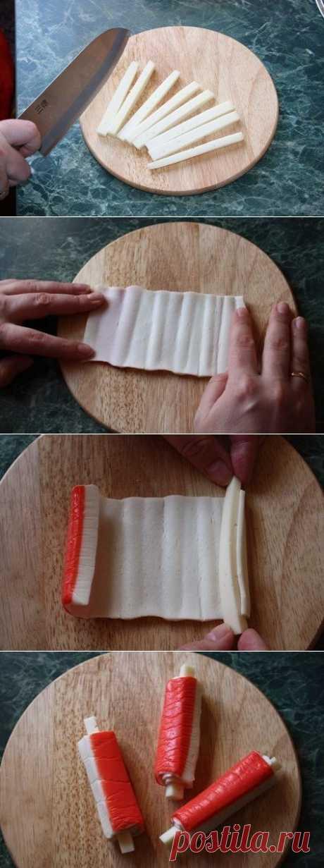 Крабовые палочки в кляре с сыром | Готовим вместе