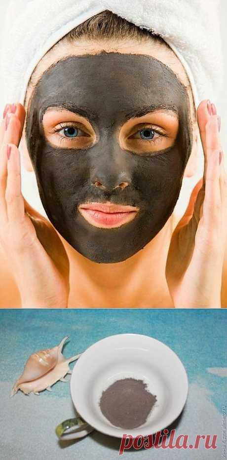 Черная глина для лица / Все для женщины