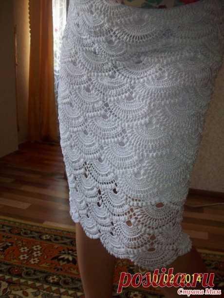 Вязание: юбка по мотивам Джованны Диас