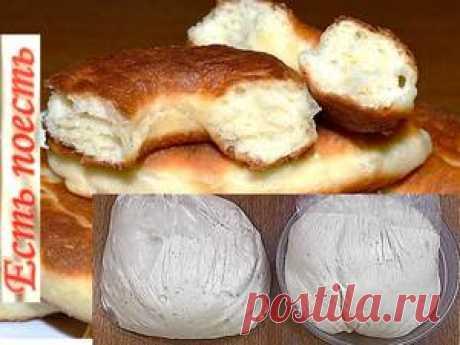 Как сделать дрожжевое тесто, не прикасаясь к нему рецепт с фото