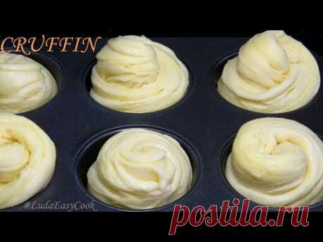 [DOUGH FOR KRAFFINOV] Yeast Puff Pastry the simple fast recipe the Hybrid - BỘT NGÀN LỚP CRUFFIN