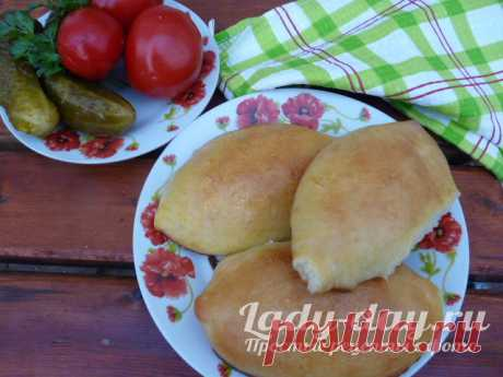 Пирожки с капустой в духовке на дрожжевом тесте, пошаговый | Простые рецепты с фото