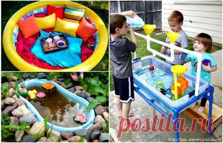 17 поделок для детей на даче, которые можно сделать своими руками — Дом и Сад