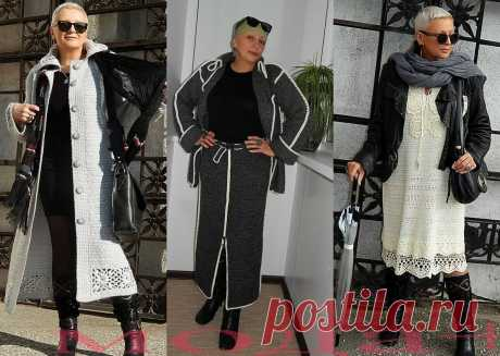 Красивый БОХО-гардероб на холода для всех модниц 45+. | Мода + | Яндекс Дзен
