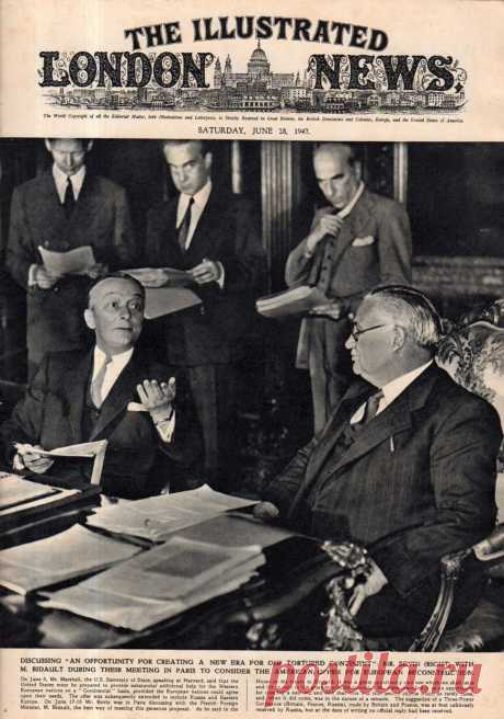 1947.06.28 - The Illustrated London News | Sovetika.ru - обложки старых журналов