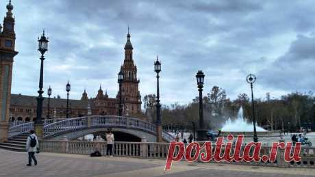 Самая красивая площадь Испании   мои дороги   Яндекс Дзен