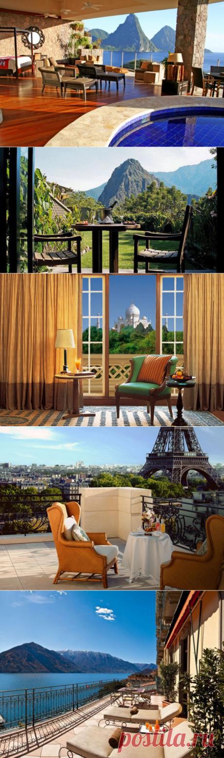 ТОП-10 Los hoteles con las vistas desde la ventana hermosas | AutoTravel.ua