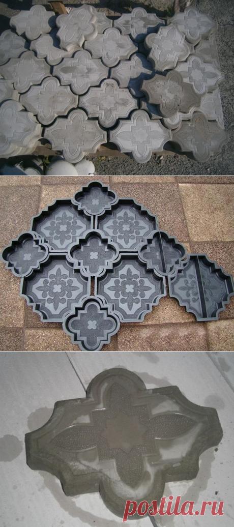 Самодельная тротуарная плитка — Сделай сам
