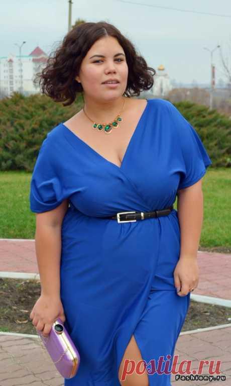 Шьем платье-халат за час. Пойдет и дамам с пышными формами. Мастер-класс