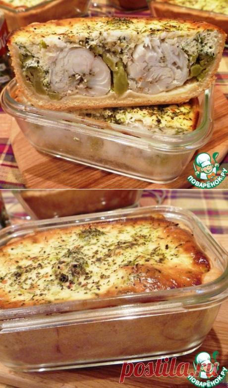 Киш с брокколи и треской – кулинарный рецепт