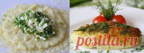 Готовим любимые картофельные зразы с луком и яйцом