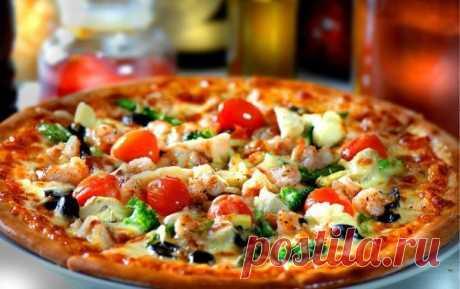La pizza, que es posible todo.