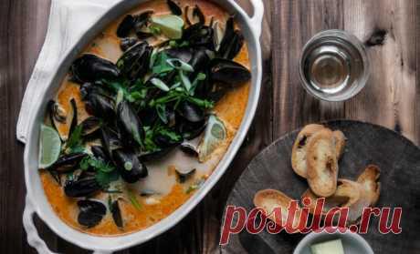 Мидии, мидии рецепты, как приготовить мидии, морепродукты