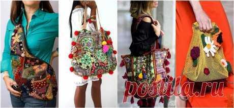 Женские сумки своими руками. 200 фото красивых сумок.