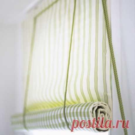 Рулонные шторы своими руками (мастер-класс) | Рукоделие