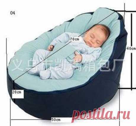 Детские кресла-мешки кровать ребенка спать погремушка стул, Новорожденный диван cama детская кровать диван с жгутом проводов Наполнитель не включены