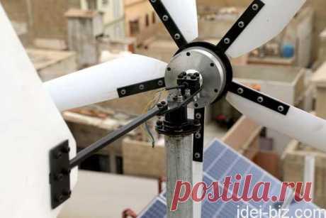 Ветрогенератор своими руками: подробные фото изготовления