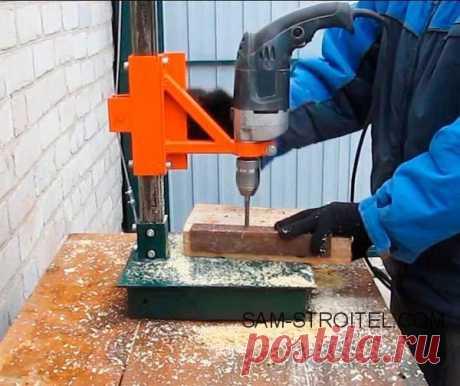 Стойка для дрели сделанная своими руками (29 фото)