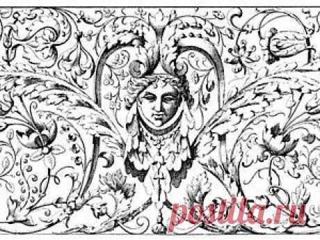Узоры и орнаменты викторианского стиля - Ярмарка Мастеров - ручная работа, handmade