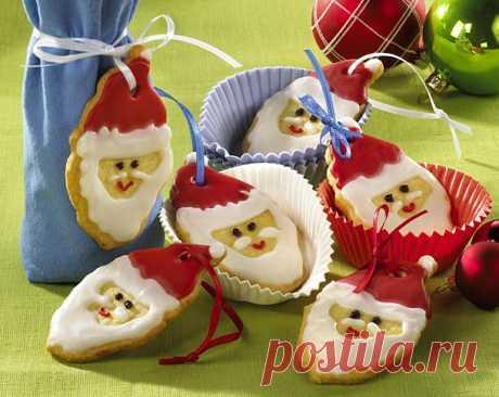 Сахарные Деды Морозы.