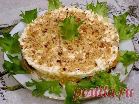 Салат с печенью и черносливом (без майонеза) - хочется попробовать - Простые рецепты Овкусе.ру