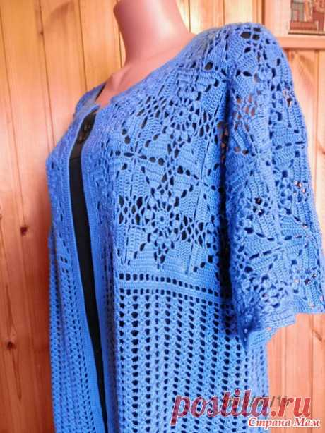 My summer cardigan for not model ladies. - KNITTED FASHION + FOR NOT MODEL LADIES - the Country of Mothers