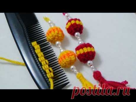 Hand Embroidery: Hack to Make Tassels
