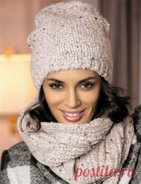 поиск на постиле вязаные шапки для женщин