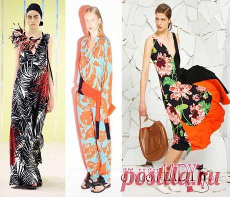 Модные тенденции весна - лето 2016, полный фото - обзор  испанский и латиноамериканский стиль
