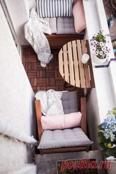 Маленький балкончик