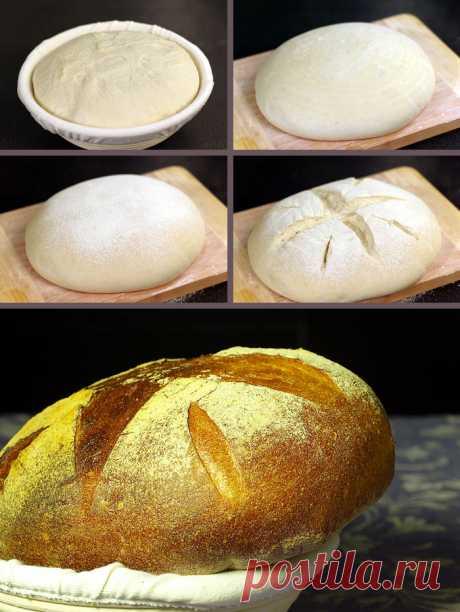 Идеальный хлеб на закваске (Чад Робертсон).