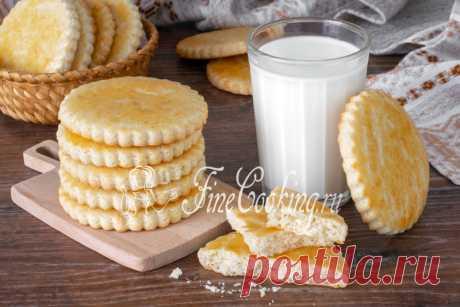 Молочные коржики Простой и доступный рецепт вкусных, нежных и рассыпчатых молочных коржиков из детства.