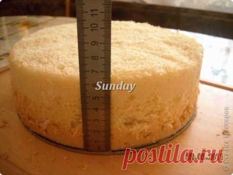Всегда удачный бисквитный корж для торта. МК.