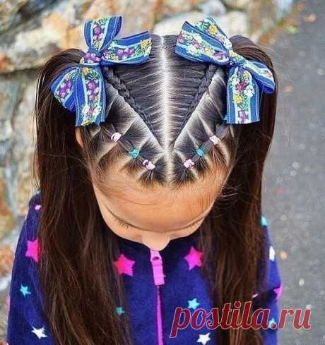 Los peinados (elección) infantiles
