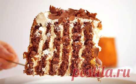 Медовый торт без раскатки коржей   Рецепты на SuperKuhen.ru
