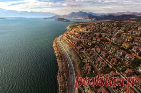 Лучшие фото Земли с высоты птичьего полета / Путешествия / Моя Планета